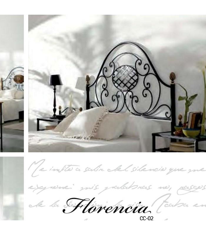 Cabecero forja Florencia