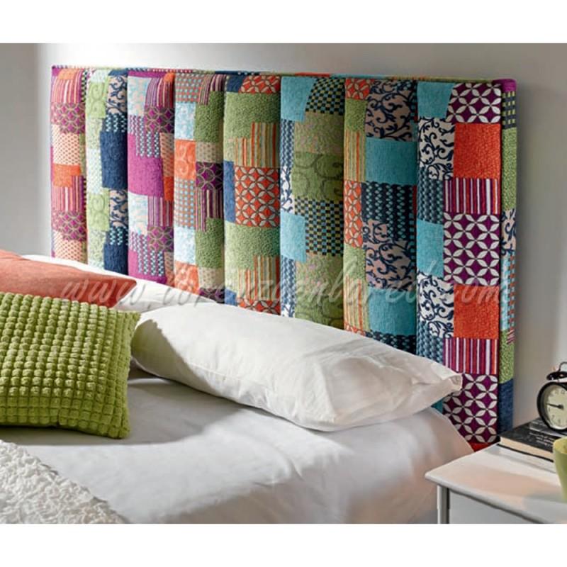 Cabecero algor patchwork - Cabeceros de cama acolchados ...