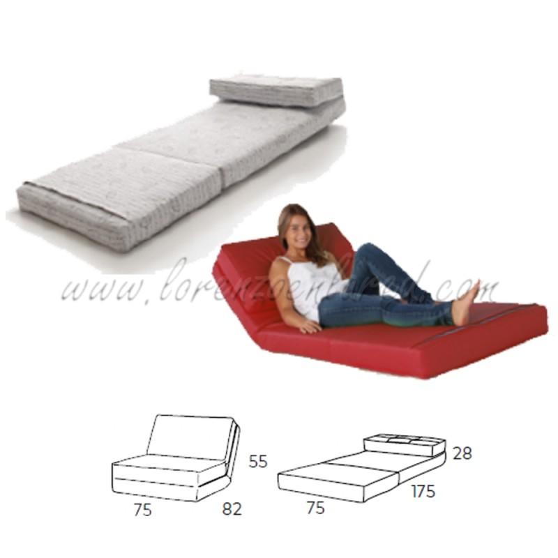 Puff convertible cama free silln cama estrecho de diseo - Puff ikea precio ...