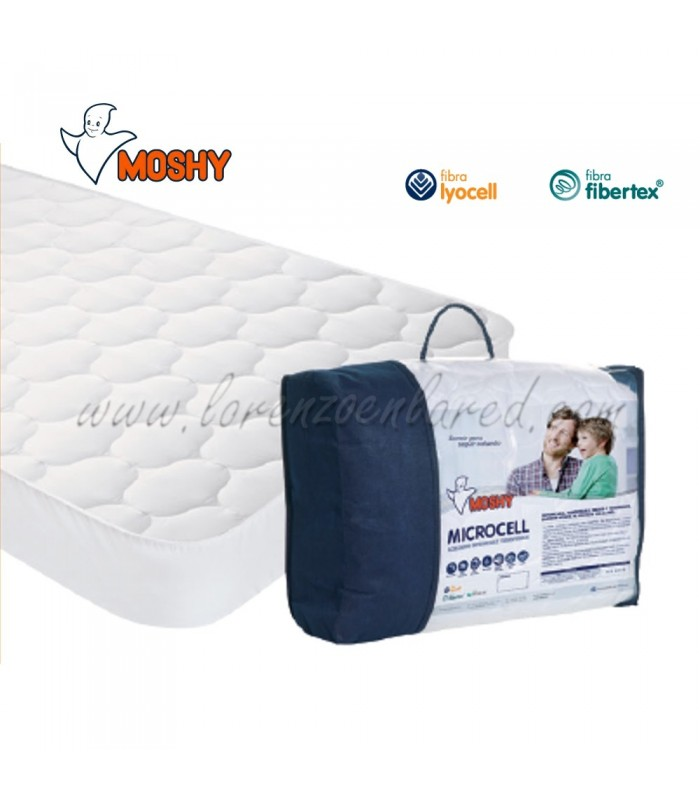 Cubrecolchón Moshy Microcell impermeable