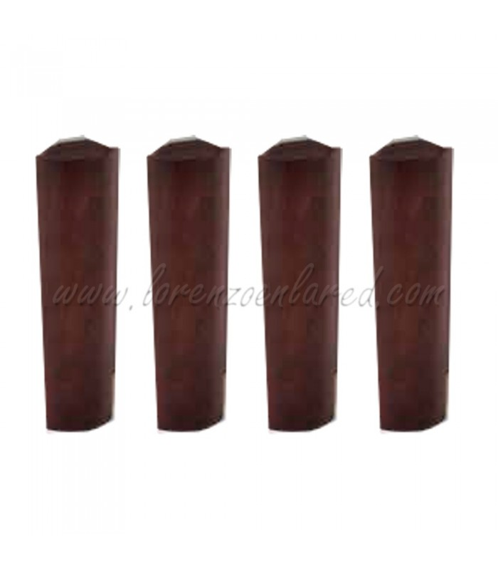 Juego de 4 esquineras de madera para canapé Dúo