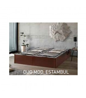 Canapé Dúo Estambul con somieres articulados
