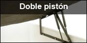 Bisagras de doble pistón